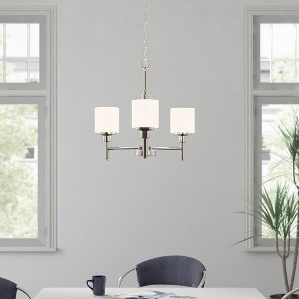 Buckleys 3 - Light Shaded Classic / Traditional Chandelier By Zipcode Design