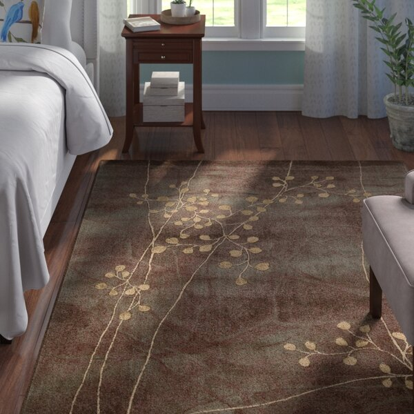 Smithtown Brown Area Rug by Andover Mills