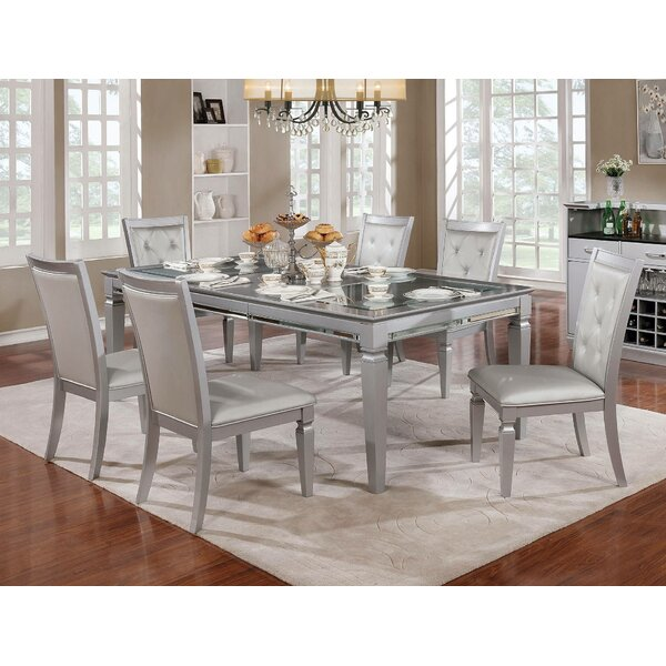 Mayfield 7 Piece Extendable Dining Set by Rosdorf Park Rosdorf Park
