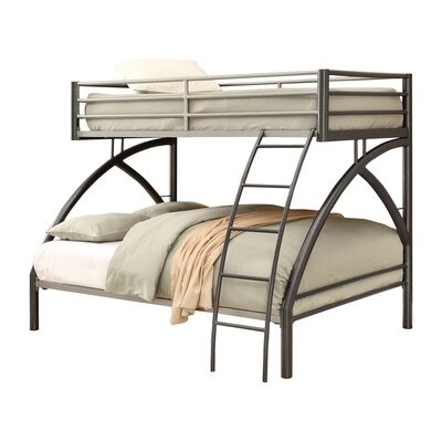 Twin over Full Bunk Bed Wildon Home®