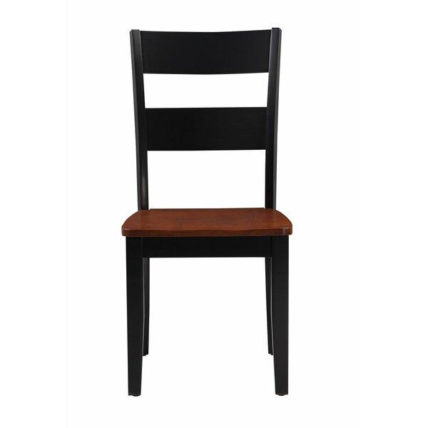Emmalynn Modern Solid Wood Dining Chair (Set of 2) by Longshore Tides