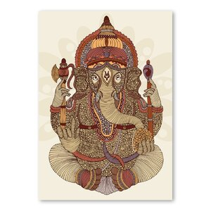 Ganesha by Valentina Ramos Framed Graphic Art by Americanflat