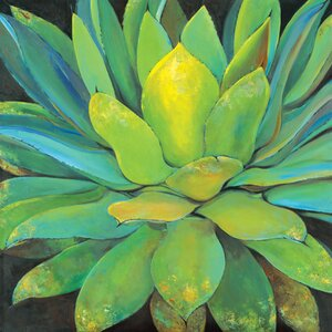'Agave' Painting Print on Wrapped Canvas by Red Barrel Studio