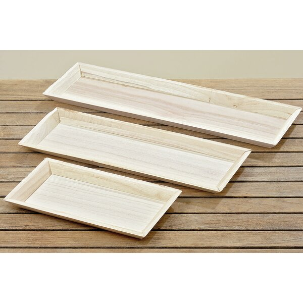 Farm House 3 Piece Accent Tray Set by Whole House Worlds