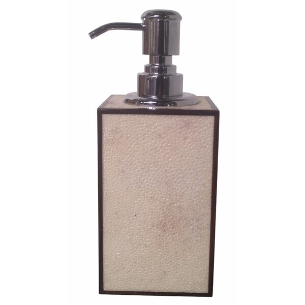 Shagreen Soap & Lotion Dispenser by Oggetti