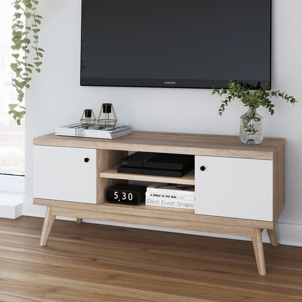 Cockfosters Enclosed Storage TV Stand For TVs Up To 49