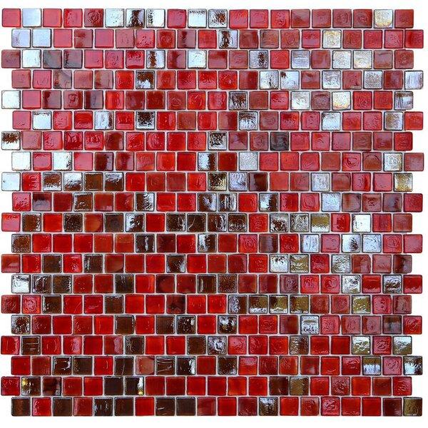 Opal 0.63 x 0.63 Glass Mosaic Tile in Lolita by Kellani