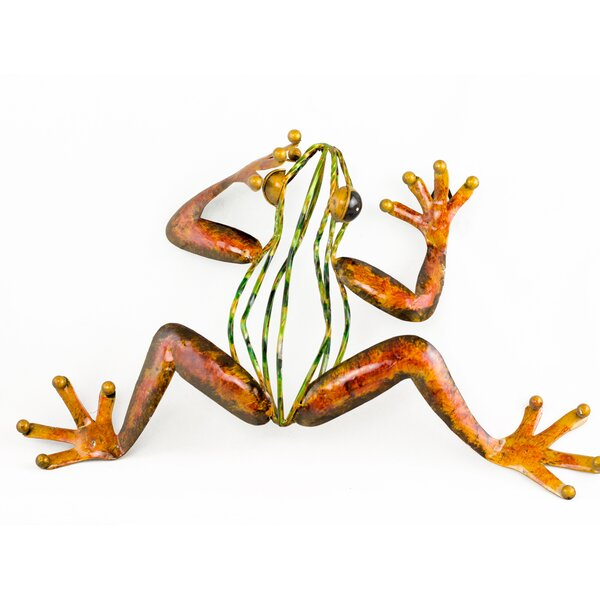 Randleswood Metal Frog Wall Décor by Bay Isle Home