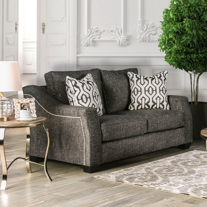 Landrum Loveseat By Everly Quinn Compare Prices Sofas