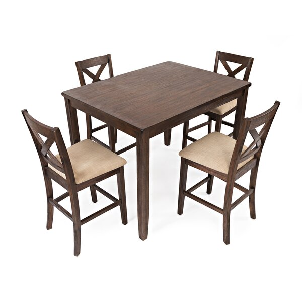 Lagrone Creek 5 Piece Counter Height Dining Set by Gracie Oaks