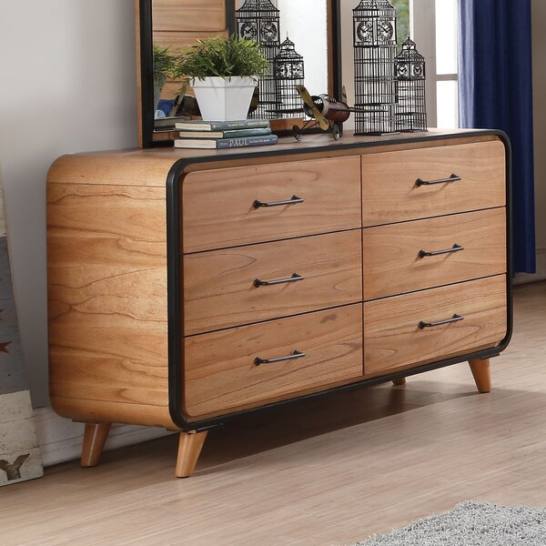 Gipson 6 Drawer Double Dresser by Ivy Bronx