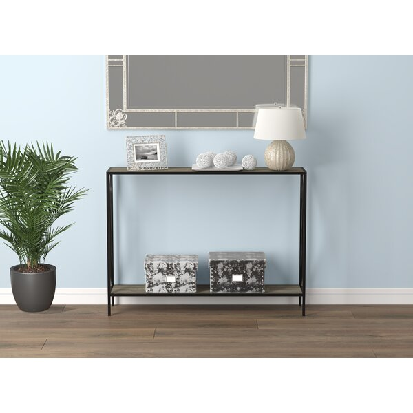 Reviews Hobbes 40 Console Table by Ebern Designs