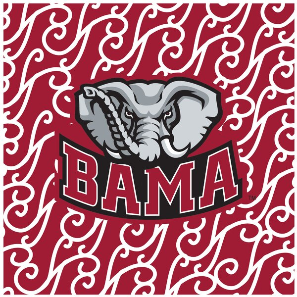 University of Alabama Square Occasions Trivet by Thirstystone