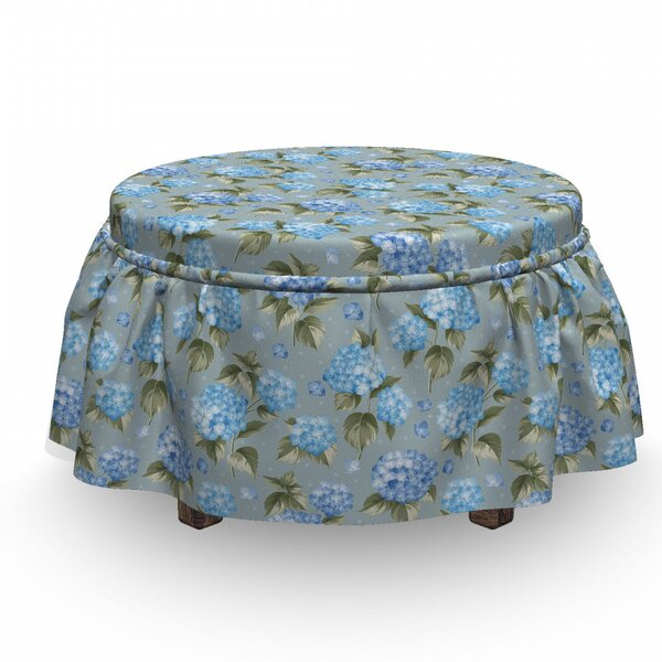 Botanical Dots Ottoman Slipcover (Set Of 2) By East Urban Home