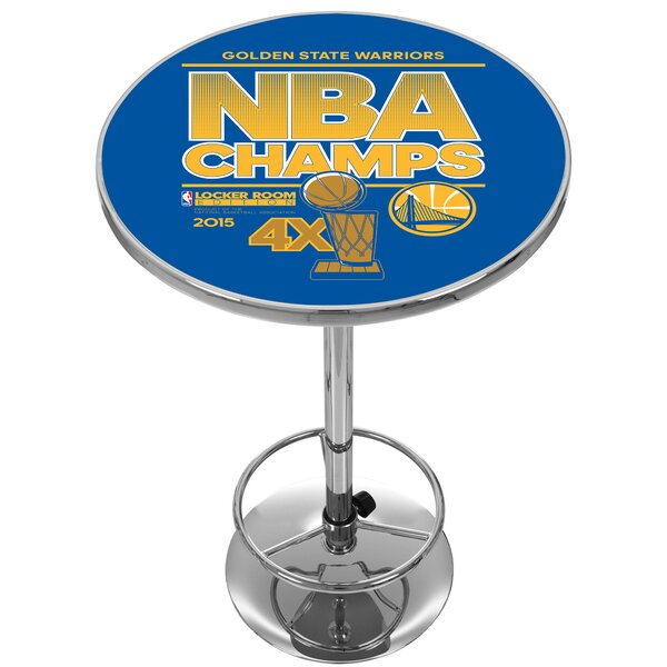 NBA Golden State Warriors 2015 Champions Pub Table by Trademark Global