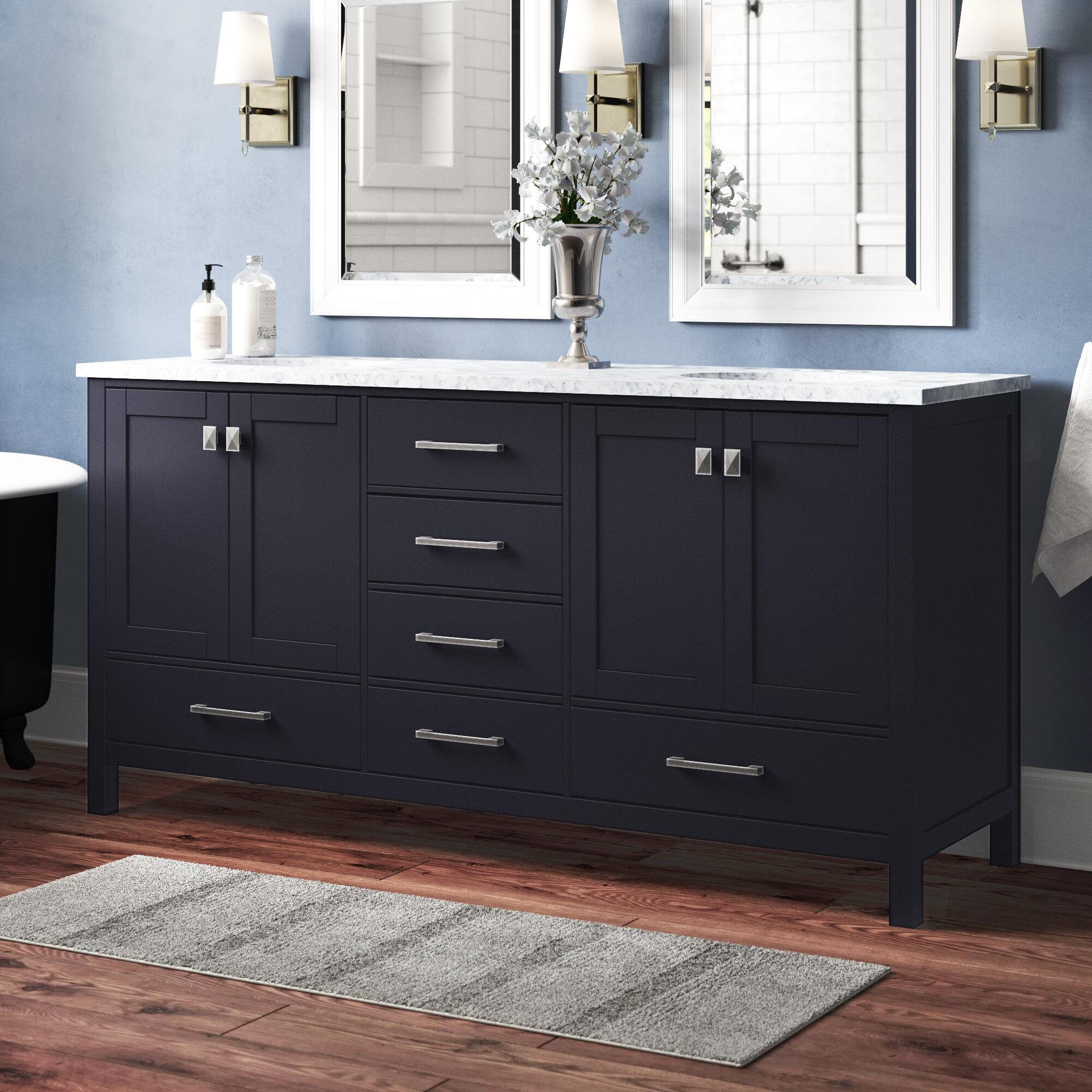 Contemporary Office Interior Design, Darby Home Co Bowlin 72 Double Sink Bathroom Vanity Reviews Wayfair