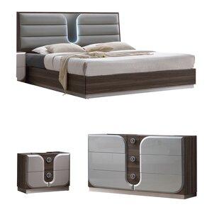 Anshul Platform Configurable Bedroom Set by Orren Ellis