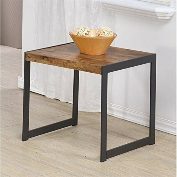 Lococo Minimalist End Table by Williston Forge