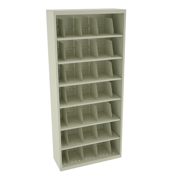 Large Fixed Shelf File Open Filing Unit by Tennsco Corp.