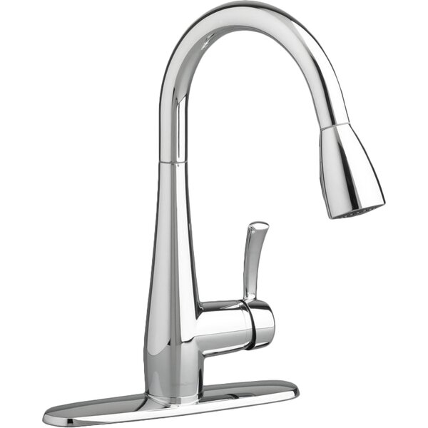 Quince Pull Down Single Handle Kitchen Faucet by American Standard