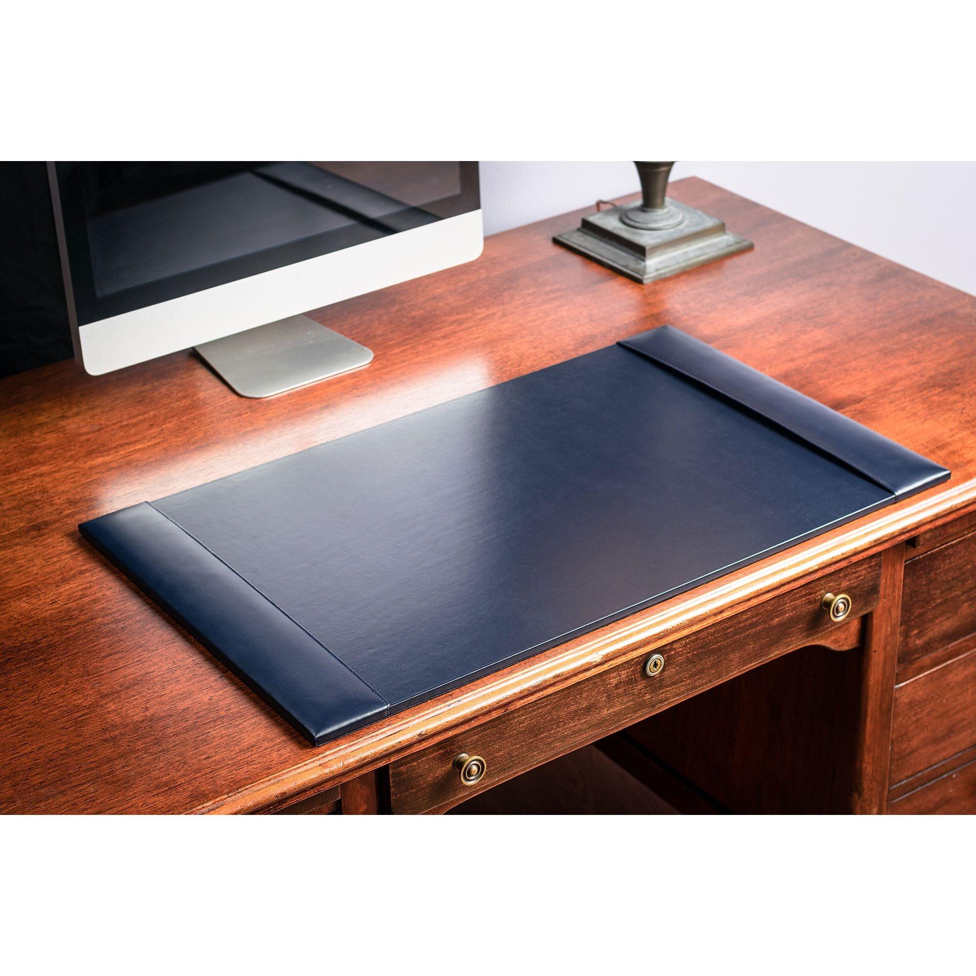 Symple Stuff Griffey Leather Desk Pad Wayfair