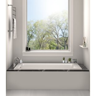 Freestanding Tub And Shower Combo. Drop In Bathtub 32  x 48 Soaking Tub Shower Combo Wayfair