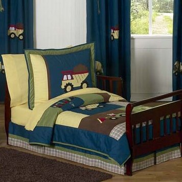 Construction Zone 5 Piece Toddler Bedding Set by Sweet Jojo Designs