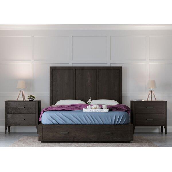 Mifley Platform 3 Piece Bedroom Set by Wrought Studio