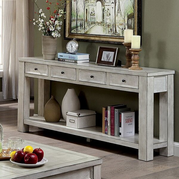 Review Mosier Transitional Console Table