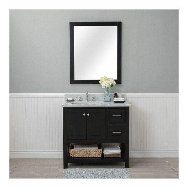 Basnight 36 Single Bathroom Vanity Set with Mirror