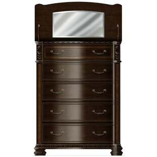 Redbud Bedroom 5 Drawer Chest By Astoria Grand