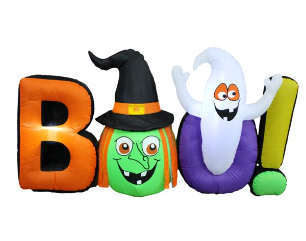 Boo Group Inflatable by The Holiday Aisle
