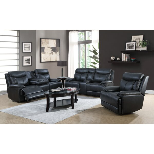 Lovato 3 Piece Reclining Living Room Set by Red Barrel Studio