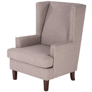annita wingback chair by latitude run for sale