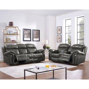 Hatzieleftheriadis Reclining Living Room Set by Red Barrel Studio®