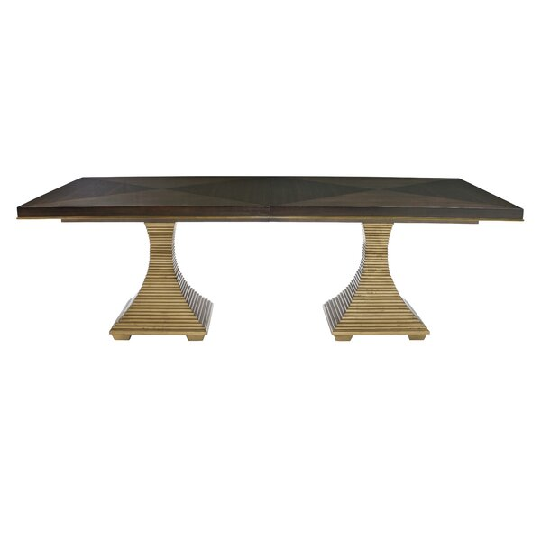 Jet Set Dining Table by Bernhardt