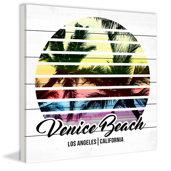 Venice Beach Graphic Art on Wood by Marmont Hill
