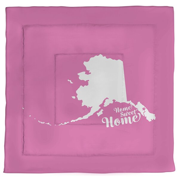 Juneau Home Sweet Single Reversible Comforter