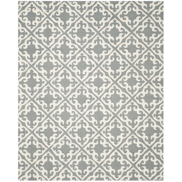 Lima Gray/Ivory Area Rug by Darby Home Co