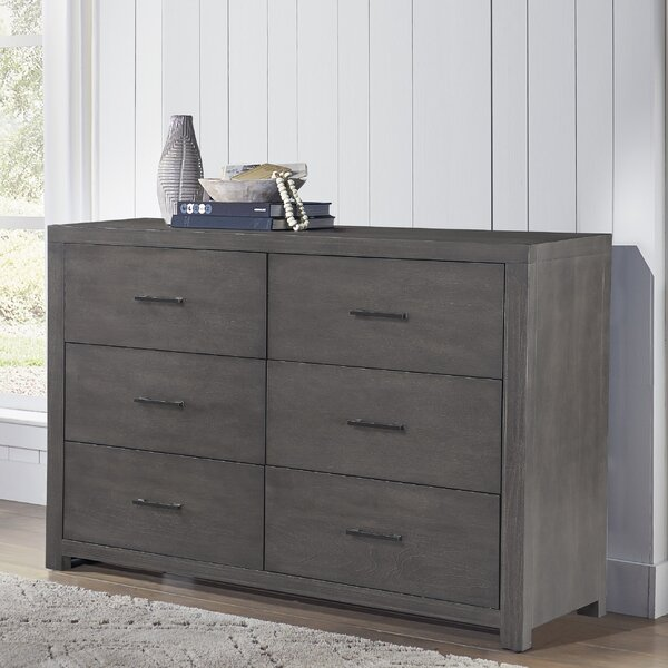 Norfork 6 Drawer Double Dresser by Red Barrel Studio