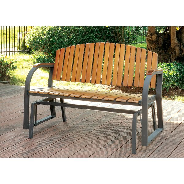 Upper Strode Outdoor Metal Park Bench by Millwood Pines