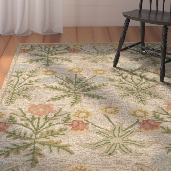 Ginger Beige Area Rug by August Grove