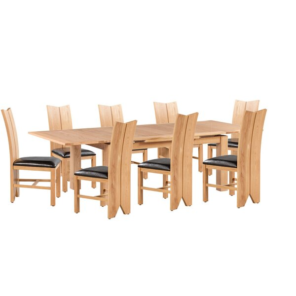 Baxley 9 Piece Dining Set by Foundry Select
