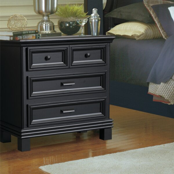 Scarlett 3 Drawer Nightstand by Wildon Home ®