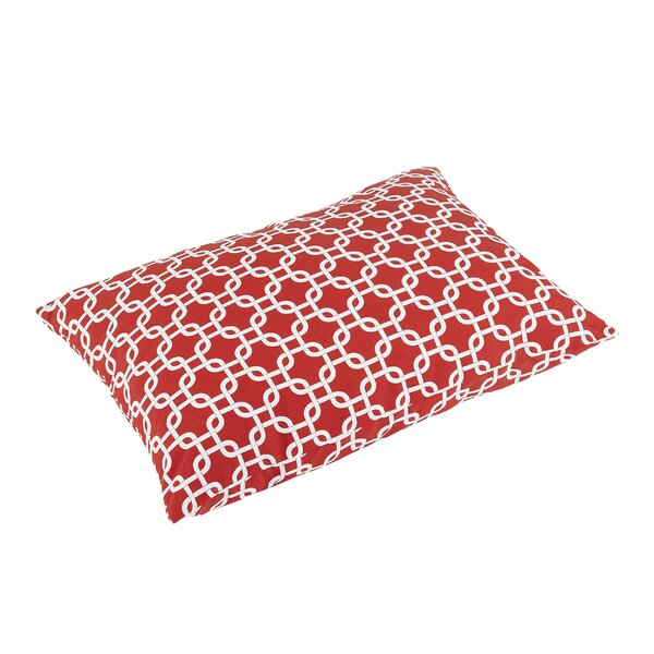 Replogle Knife Edge Indoor/Outdoor Rectangular Floor Pillow by Brayden Studio