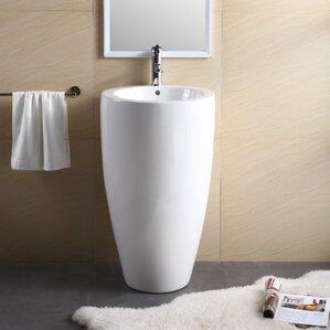 pedestal bathroom sinks. Fine Fixtures Pedestal Sinks You ll Love