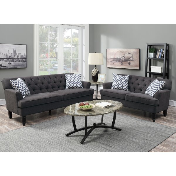 Americus 2 Piece Living Room Set by Charlton Home