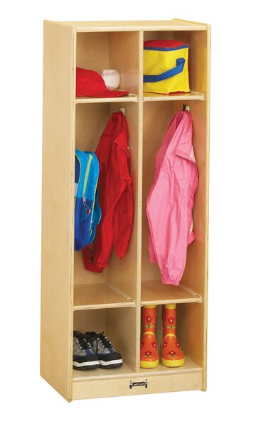 3 Tier 2 Wide Coat Locker by Jonti-Craft