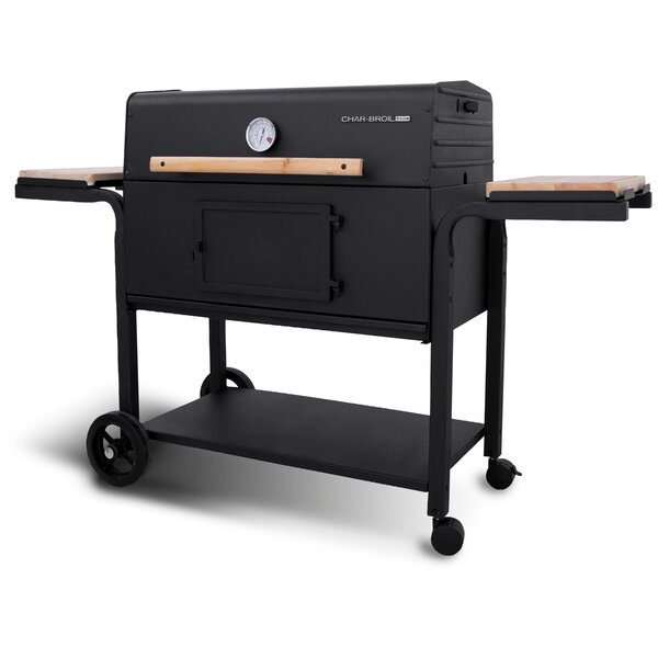 CB940X Charcoal Grill with Side Shelves by Char-Broil