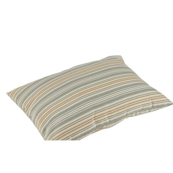 Cavisson Sunbrella Gavin Mist Outdoor Floor Pillow by Rosecliff Heights